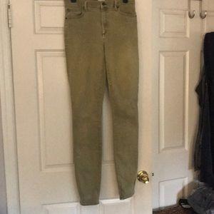 Light green jeans